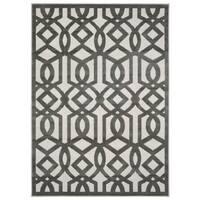 Nourison Ultima Silver Grey Rug (3'6 x 5'6) - 3'6 x 5'6