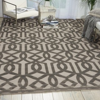 Nourison Ultima Silver Grey Rug (7'6 x 9'6)