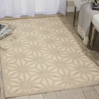 Nourison Ultima Ivory Silver Rug (7'6 x 9'6)