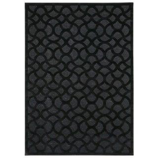 Nourison Ultima Black Rug (3'6 x 5'6)