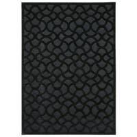 Nourison Ultima Black Rug (5'3 x 7'3)