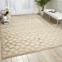 Nourison Ultima Ivory Silver Rug - 5'3 x 7'3