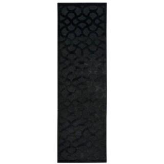 Nourison Ultima Black Runner Rug (2'2 x 7')