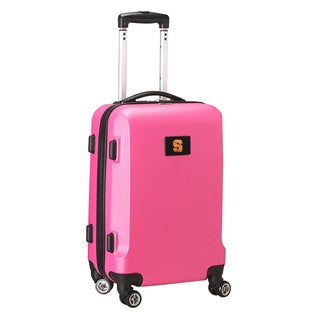 Denco Sports NCAA Syracuse Orange 20-inch Hardside Carry-on Spinner Suitcase