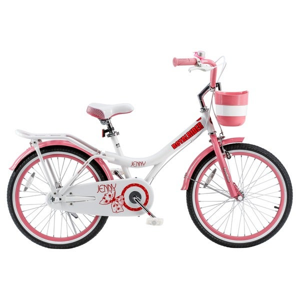 Girls 20 Inch Bike With Basket