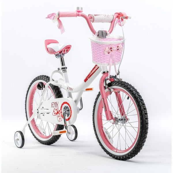 Royalbaby Jenny Princess Pink 18 Inch Girl S Bike With Training