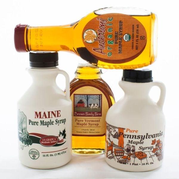 igourmet US Maple Syrup Sampler