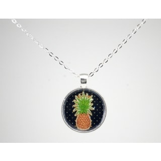 """Be The Envy """"Pineapple"""" Necklace"""