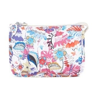 Kipling Nylon Harrie Printed Purse Pouch