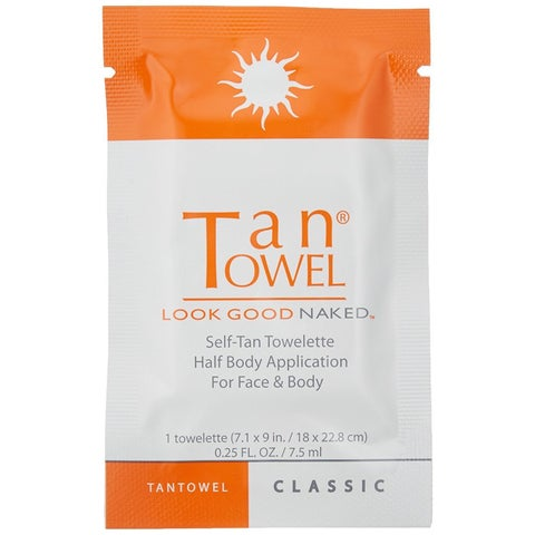 Tan Towel Plus Half-body Self-tan Towelettes (Pack of 10)