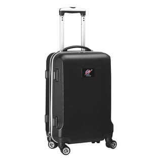Denco Sports NBA Washington Wizards 20-inch Hardside Carry On Spinner Upright Suitcase