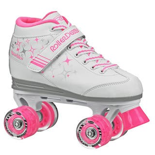 Sparkle Girl's Lighted Wheel Roller Skate|https://ak1.ostkcdn.com/images/products/10511061/P17582408.jpg?impolicy=medium