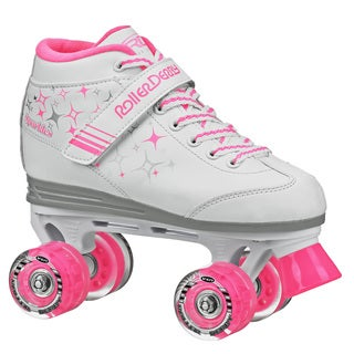 Sparkle Girl's Lighted Wheel Roller Skate (More options available)