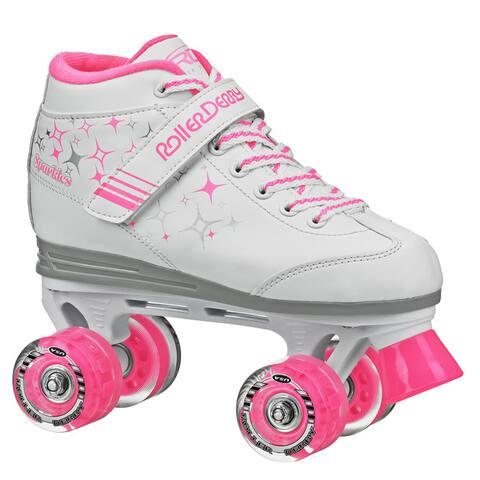 Sparkle Girl's Lighted Wheel Roller Skate