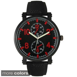 Olivia Pratt Men's Sporty Silicone Watch
