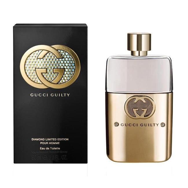 Gucci Guilty Diamonds Pour Homme Mens' 3-ounce Eau de Toi...