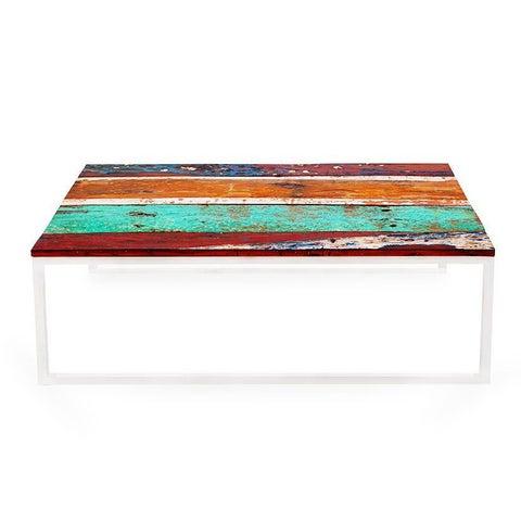 Oceanic Reclaimed Wood Coffee Table