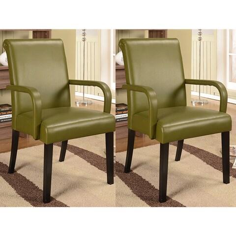 K&B AC9080 Parson Chairs (Set of 2)