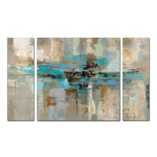 Silvia Vassileva Morning Fjord 3-Piece Canvas Wall Art Set