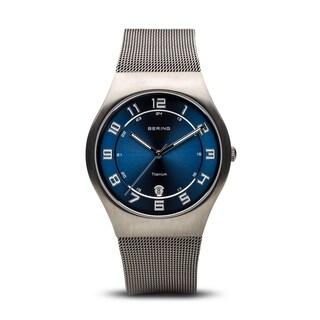 BERING Titanium Slim Watch With Sapphire Crystal 11937-078