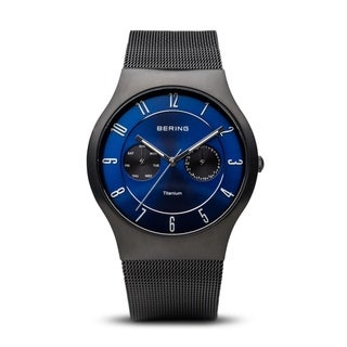 BERING Titanium Slim Watch With Sapphire Crystal 11939-078