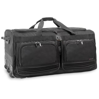 J World Brighton 33-inch Rolling Duffel Bag