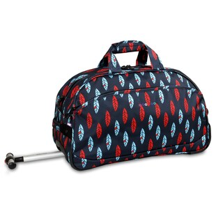 J World Indi Christy 20-inch Carry-on Rolling Duffel Bag