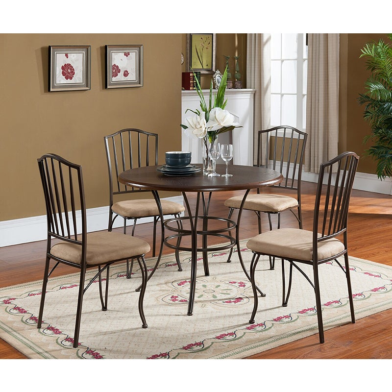 K&B D3037-2 Dining Chairs (Set of 2) (D3037-2)
