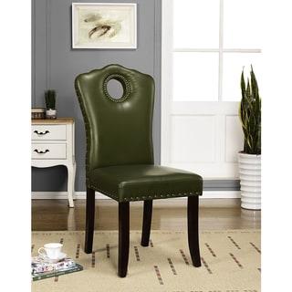 K&B PC3008-C Parson Chairs (Set of 2)