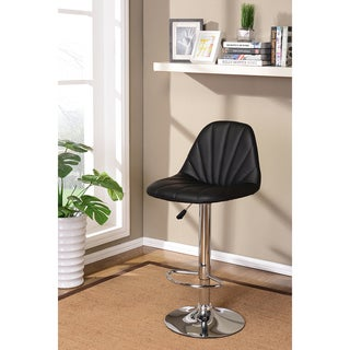 K&B ST7615-B Adjustable Bar Stools (Set of 2)