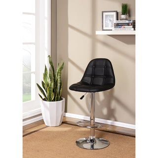 K&B Adjustable Bar Stools (Set of 2)