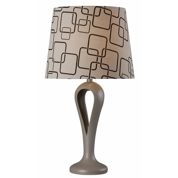 Needle 28-inch Table Lamp - Grey