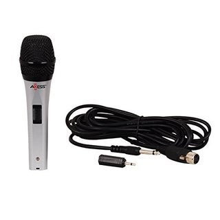 Axxess MP1506 Professional Wired Dynmic Karaoke Handheld Microphone