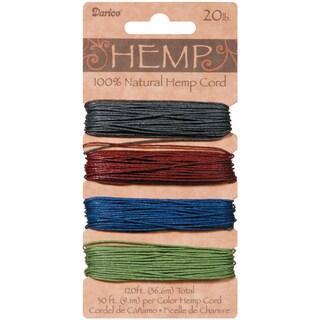 Hemp Cord 20lb 120'Darks