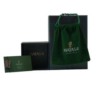 Matashi 24K Gold Plated Nights Light with Matashi Crystals