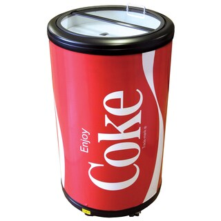 Wonderful Koolatron CCPC50 Coca Cola Indoor/Outdoor Party Fridge