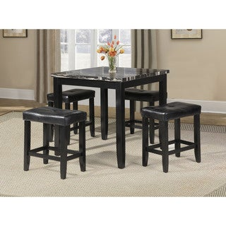 Blythe 5-piece Pack Counter Height Set Table and Stools