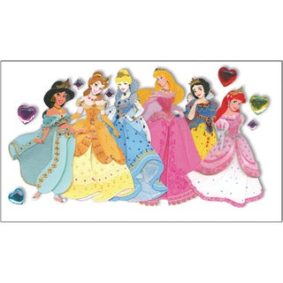 Disney Le Grande Jewel Dimensional StickersPrincesses