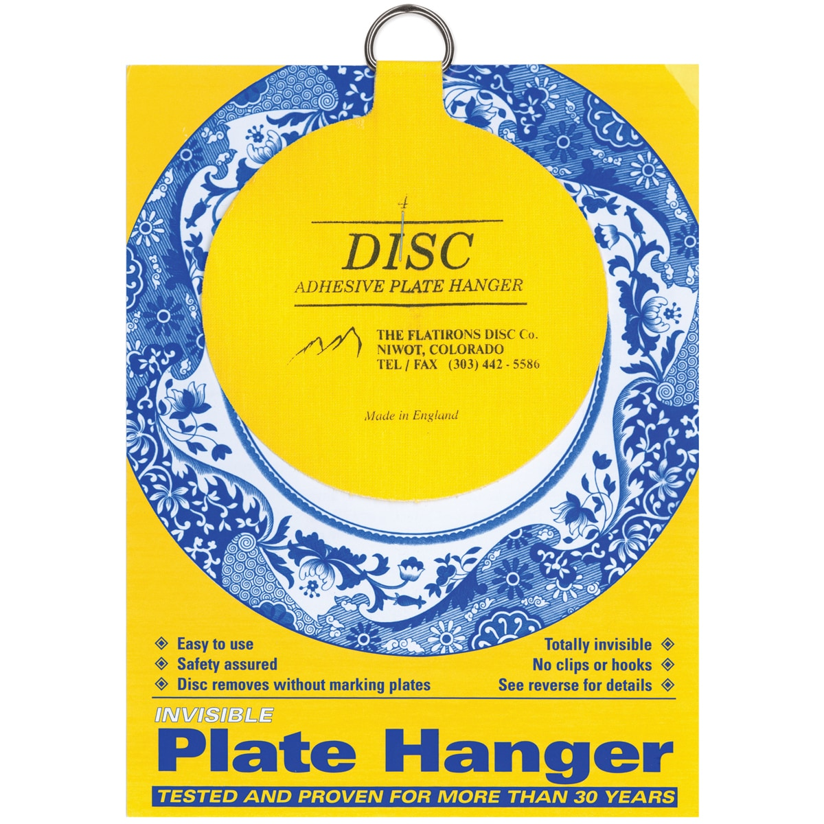 Orlimar Invisible Plate Hanger 4inFor Plates Up To 12in D...