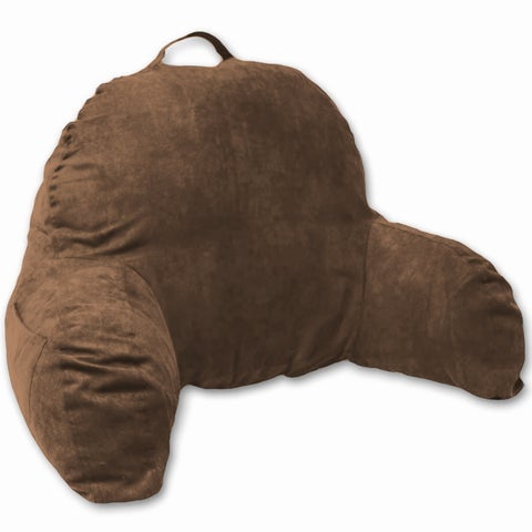 Deluxe Comfort Microsuede Bedrest Pillow