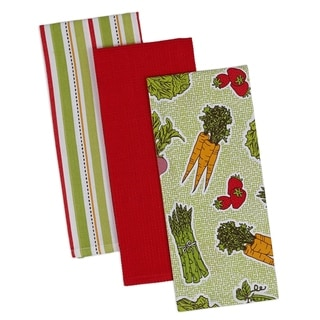 Farmer's Market Dishtowel (Set of 3)
