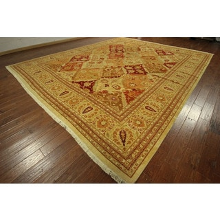 Hand-knotted Pakistani Chobi Style Oushak Collection Wool Area Rug (12' x 18', 12' x 12')
