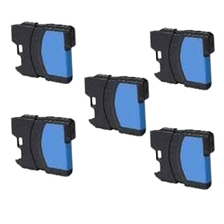 Brother LC61 C/ LC65C Compatible Inkjet Cartridge for MFCAN-5490CN MFCAN-5890CN MFCAN-6490CW MFCAN-790CW (Pack of 5)