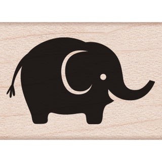 Hero Arts Mounted Rubber Stamps 1inX1inBaby Elephant