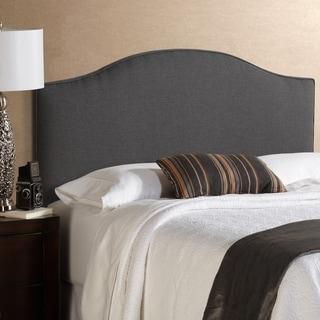 Humble + Haute Bingham Charcoal Arched Upholstered Headboard