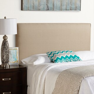 Humble + Haute Bingham Beige 100-percent Linen Upholstered Headboard