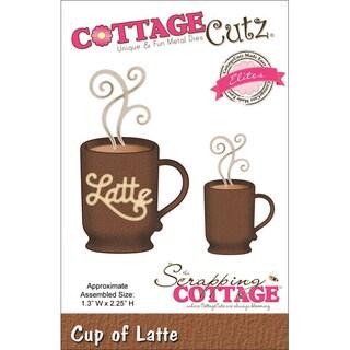 CottageCutz Elites Die Cup Of Latte 1.3inX2.25in
