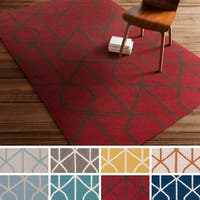 Flatweave Liskeard Wool Rug (8' x 10')