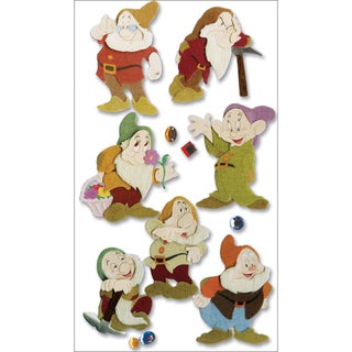 Disney Dimensional Stickers7 Dwarves