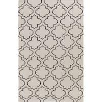 Flatweave Melksham Wool Rug (9' x 12') - 9' x 12'